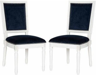 Safavieh Buchanan Rectangular Side Chair, Set of 2