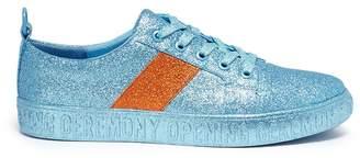 Opening Ceremony 'La Cienega' colourblock glitter sneakers
