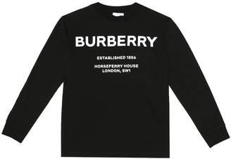 Burberry Logo cotton shirt