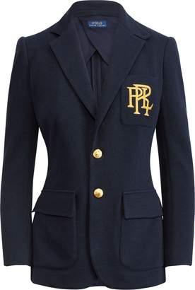 Ralph Lauren Knit Cotton Blazer