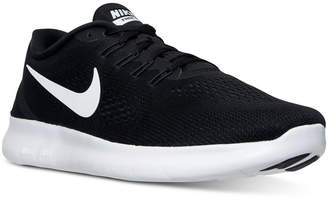 Nike Women's Free Running Sneakers from Finish Line $99.99 thestylecure.com