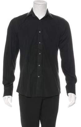 Gucci Solid Dress Shirt