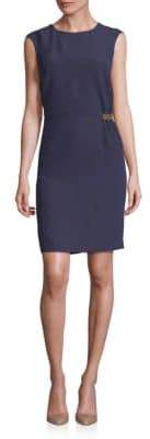 Peserico Tab Detail Sheath Dress