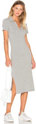 James Perse Short Sleeve Henley Dress $265 thestylecure.com
