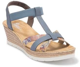 Rieker Fanni 95 Espadrille Wedge Sandal (Women)