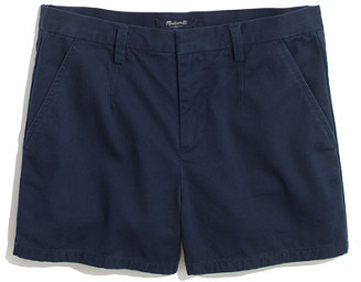 Madewell Tailored Shorts in Deep Navy