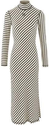 Loewe Long striped dress