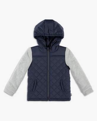 Little Boy Puffer Jacket with Hood