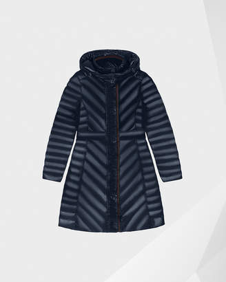 Hunter women's refined gloss down coat