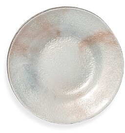 Glacier Glass Salad Plate