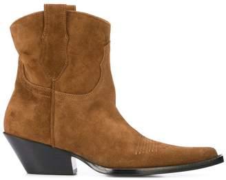 Maison Margiela western ankle boots