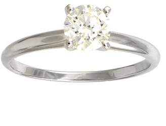 Affinity Diamond Jewelry Diamond Solitaire Ring, 3/4 cttw, 14K White Gold, by Affinity