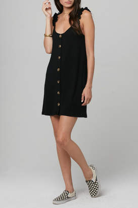 Knot Sisters Kiki Big Button Front Dress