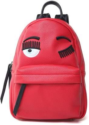 Chiara Ferragni Flirting Eye Faux-leather Backpack