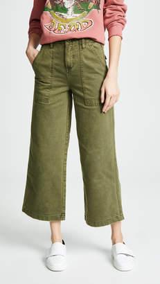 Blank Wide Leg Utility Pants