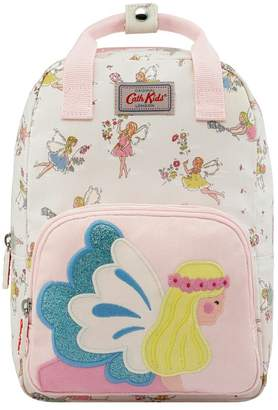 Cath Kidston Girls Kids Novelty Fairy Medium Backpack - Cream