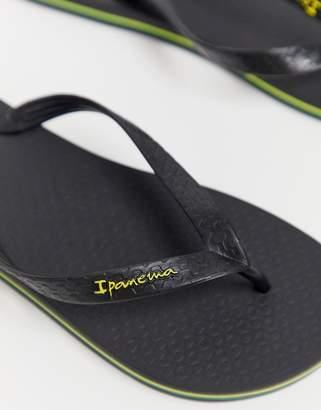 Ipanema brazil 21 flip flop in black