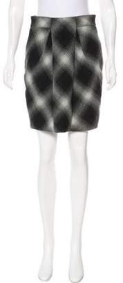 Robert Rodriguez Wool Knee-Length Skirt