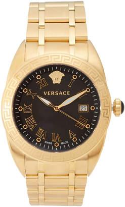 Versace VFE160017 Gold-Tone & Black Watch