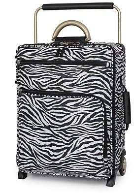 it Luggage World s Lightest 2 Wheel Trolley Case - Cabin Size, Zebra Print c8a02d2341