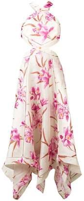Zimmermann floral-print cutout dress