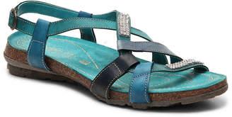 David Tate Napa Flex by April Wedge Sandal - Women's