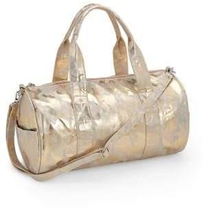Bari Lynn Kid's Metallic Camouflage Duffle Bag