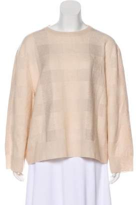 The Row Cashmere & Silk-Blend Sweater