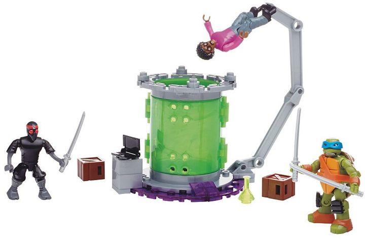 Mega Bloks Teenage Mutant Ninja Turtles Baxter Mutation Lab
