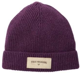 True Religion Rib Knit Beanie