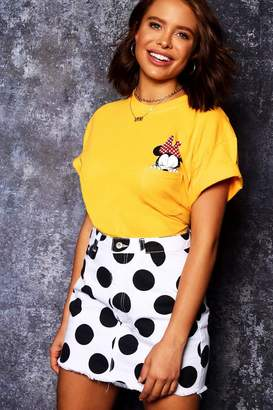 boohoo Disney Minnie Pocket Tee