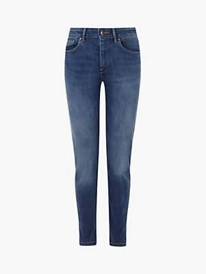 Karen Millen Mid-Wash Jeans, Denim