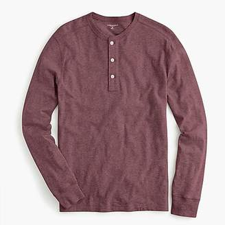 J.Crew Garment-dyed slub cotton henley