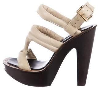 Derek Lam Leather Platform Sandals