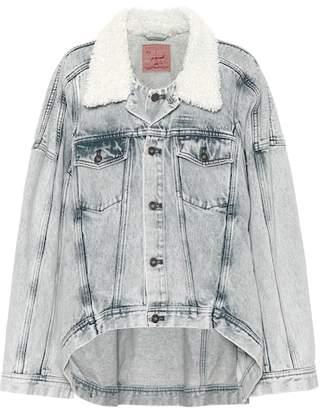 Y/Project Jean jacket with faux fur