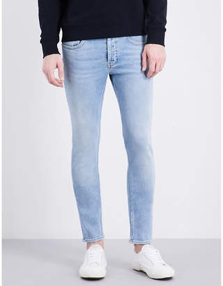 Sandro Slim-fit mid-rise tapered jeans