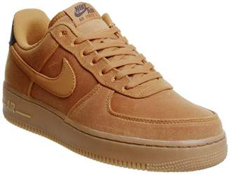 Nike Force One Trainers Monarch Gum