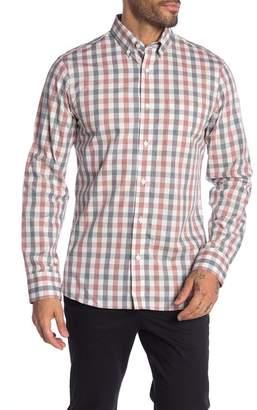 Nordstrom Spade Check Print Pocket Slim Fit Shirt