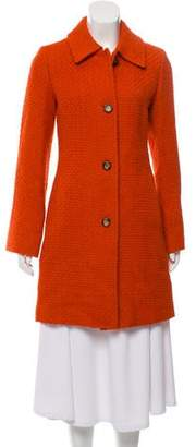 Fleurette Bouclé Wool-Blend Coat