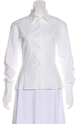Ter Et Bantine Long Sleeve Button-Up Top