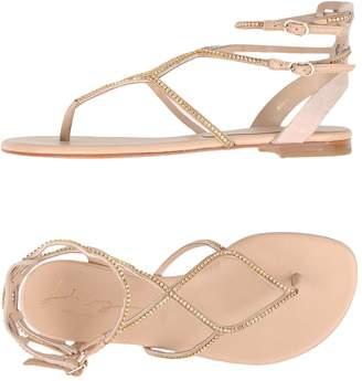 at yoox.com Lola Cruz Toe strap sandals