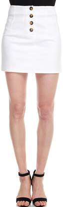 Alythea Button Mini Skirt