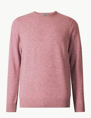 Marks and Spencer Pure Extra Fine Lambswool Crew Neck Jumper