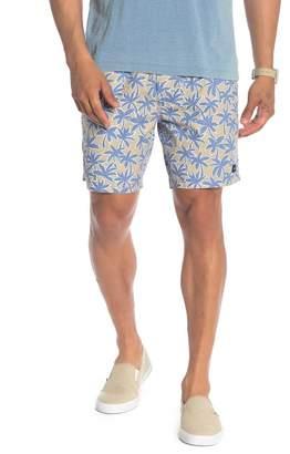 Barney Cools Drawstring Print Shorts