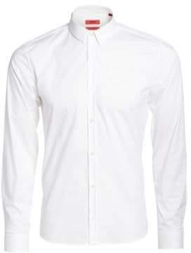HUGO W-Ero3 Woven Button-Down Shirt