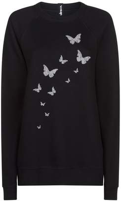 Swarovski Ultracor Butterfly Sweatshirt