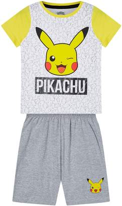 Next Boys Kids Genius Pikachu Short Pyjama Set