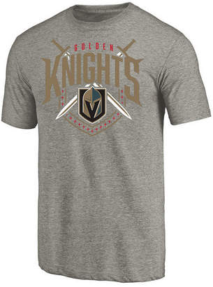 Majestic Men's Vegas Golden Knights Tri Blend Team Logo T-Shirt