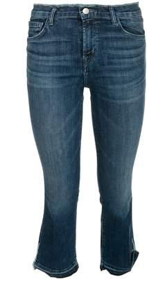 J Brand J-brand Selena Cropped Jeans