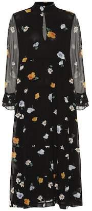 Ganni Dainty floral-printed dress